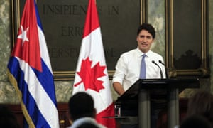 Justin Trudeau's comments were markedly more positive than most western leaders, who condemned Castro's human rights record or tip-toed around the subject.