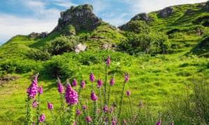 Fairy Glen on the Isle of Skye.