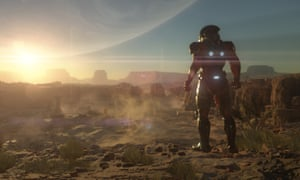 """Mass Effect: Andromeda – """"Hmm, Tinder is picking up nothing on this rock."""""""