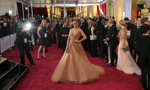 Singer Jennifer Lopez wears a dress by Elie Saab. See more of the best dresses from the red carpet in our gallery