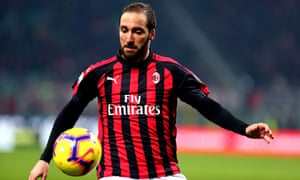 Gonzalo Higuain is set to sign for Chelsea on loan from AC Milan.