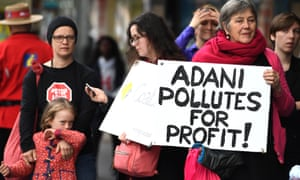 #StopAdani protest