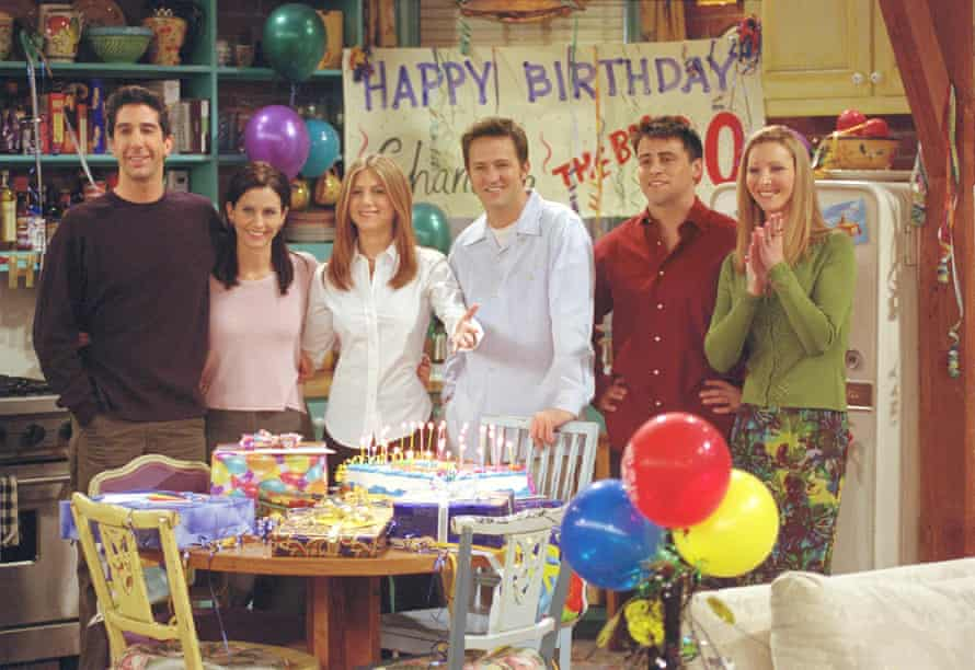 The One Where They All Turn 30 ... Friends in 2001.