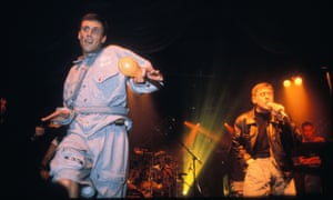 Bez and Shaun Ryder of The Happy Mondays in 1991.
