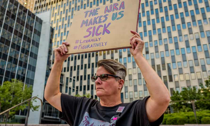Gays against guns confront demonstrate in New York last month.