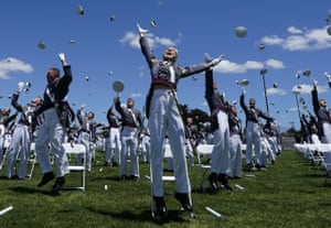 Military academy cadets