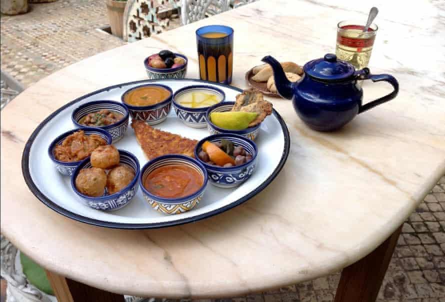 Ruined Garden restaurant in Fez