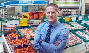 David Potts, CEO of Morrisons supermarket