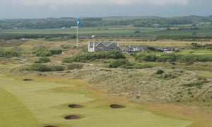 Donald Trump's golf course in Aberdeenshire.