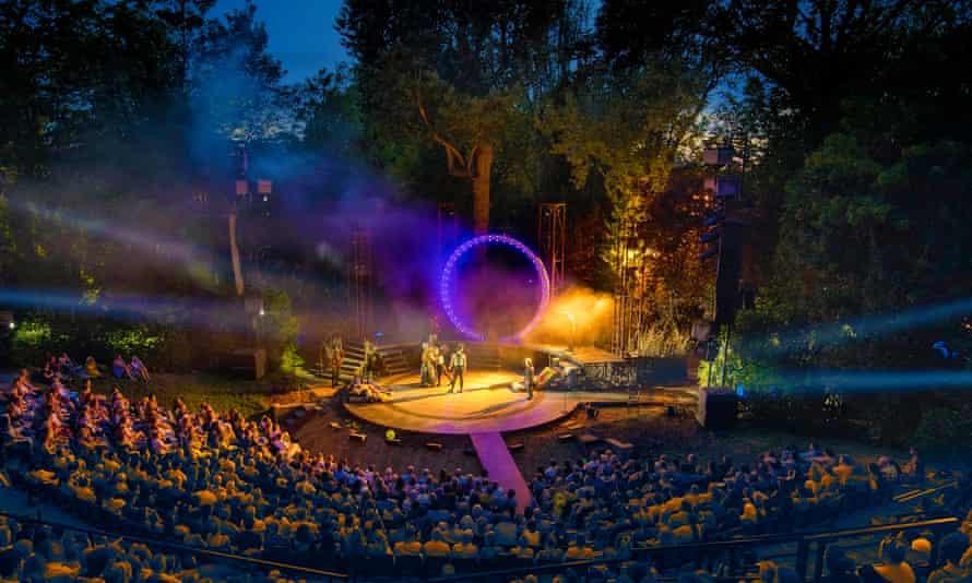 Staging a comeback … Regent's Park Open Air theatre.