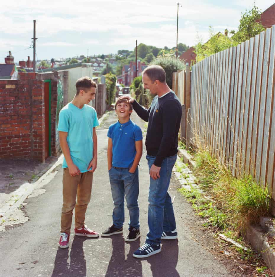Graham Thomas with George and Harry
