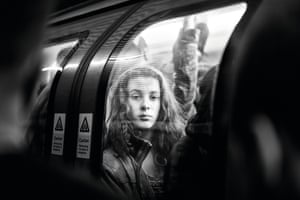 Untitled: A snatched shot on the London underground