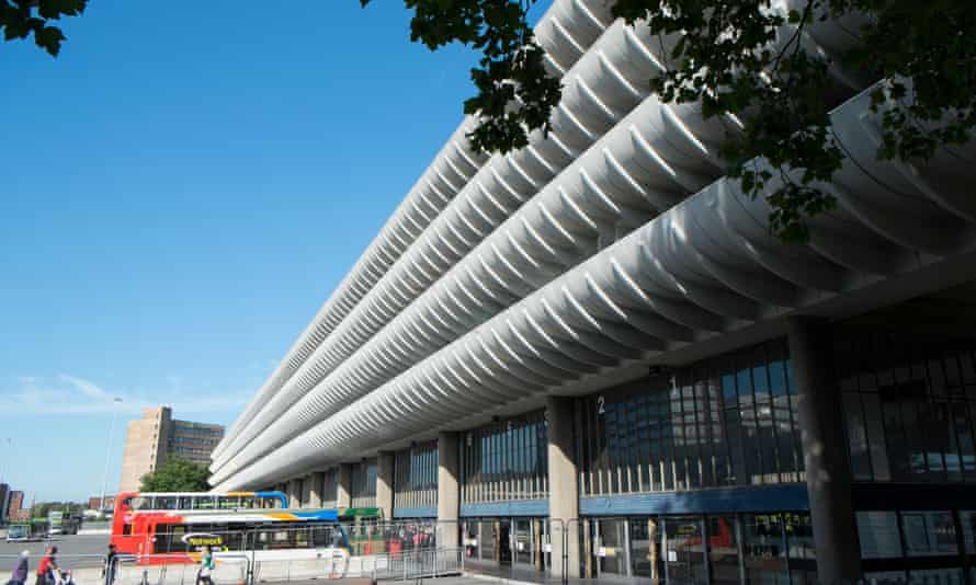 Going places … the brutalist architecture of Preston bus station, a listed building.