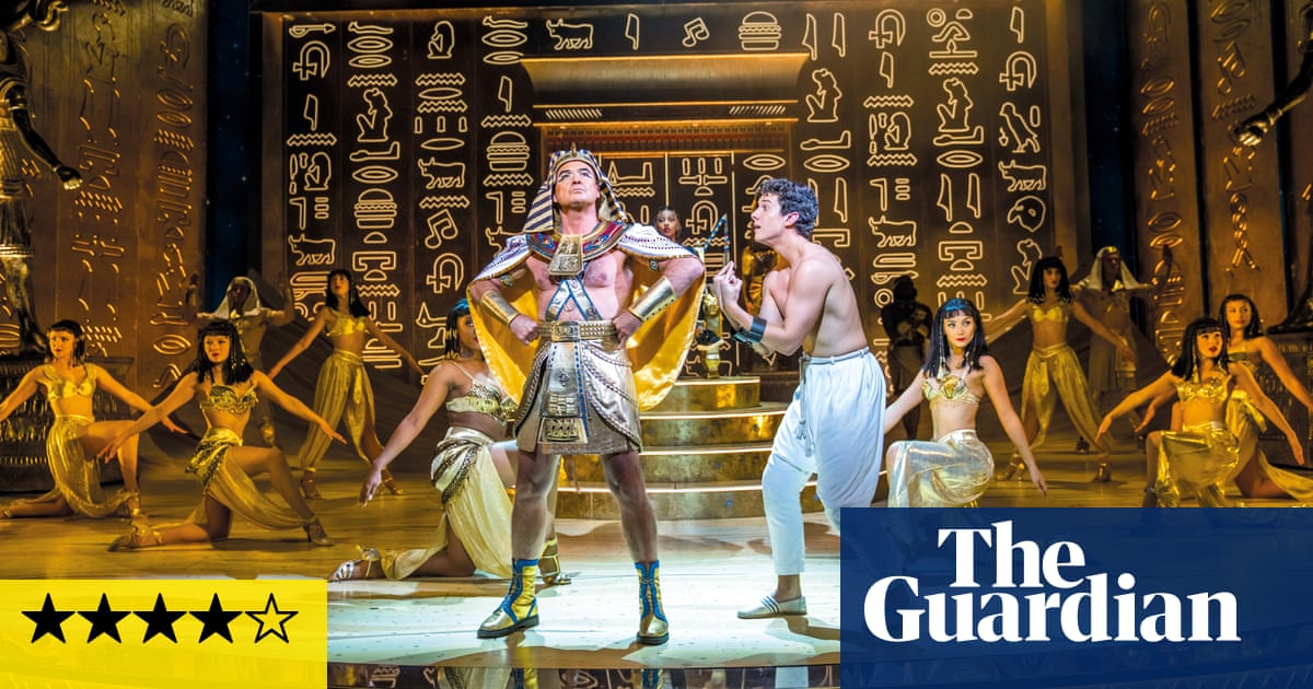 Joseph and the Amazing Technicolor Dreamcoat review – firing on all cylinders