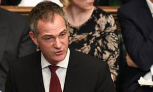 Peter Kyle speaks during the indicative votes debate in the Commons earlier this month.