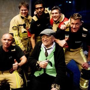 David Hockney and Amsterdam's fire brigade.