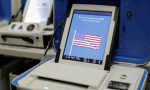 Numerous states allow military and civilian voters abroad to receive and return ballots electronically.