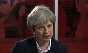 Theresa May Newsnight interview 16 06 2017 Grenfell tower fire questions