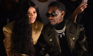 Cardi B and Offset in February.