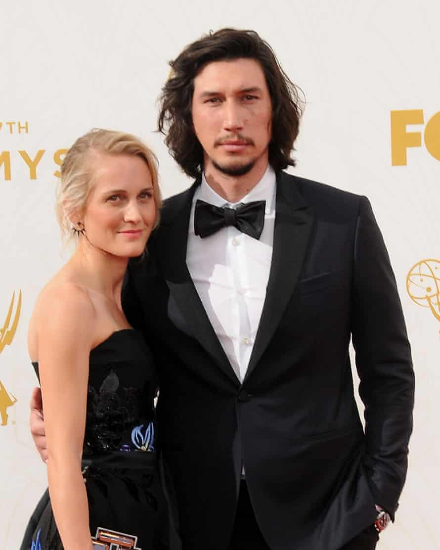 Adam Driver and his wife Joanne Tucker