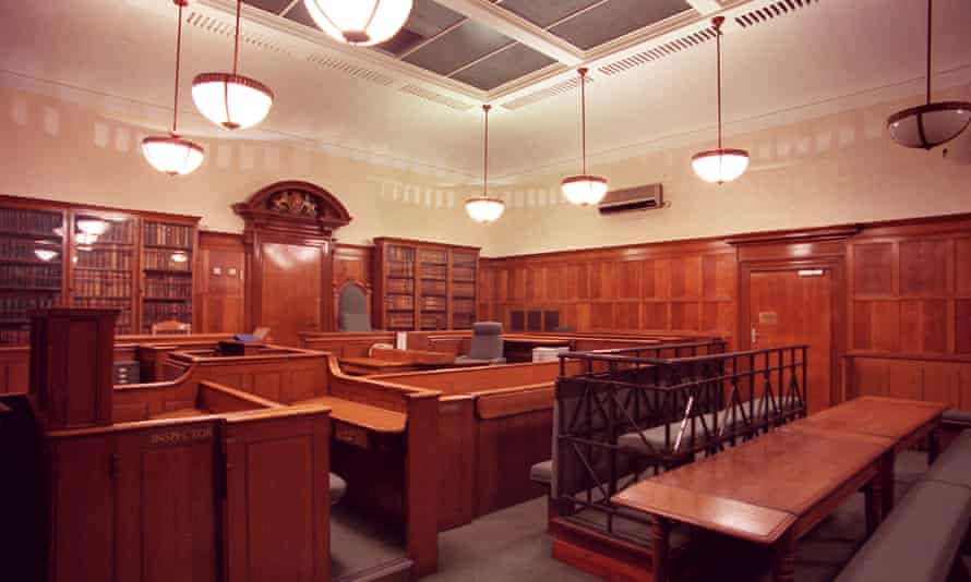 Court 1 at Bow Street magistrates court in London.