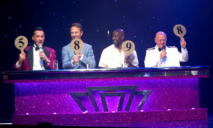 P&O's Strictly Come Dancing cruise.