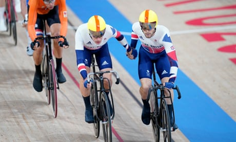 GB's Walls and Hayter take Olympic silver behind Denmark in men's madison