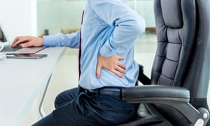 Back pain was the second most common reason for a sick day