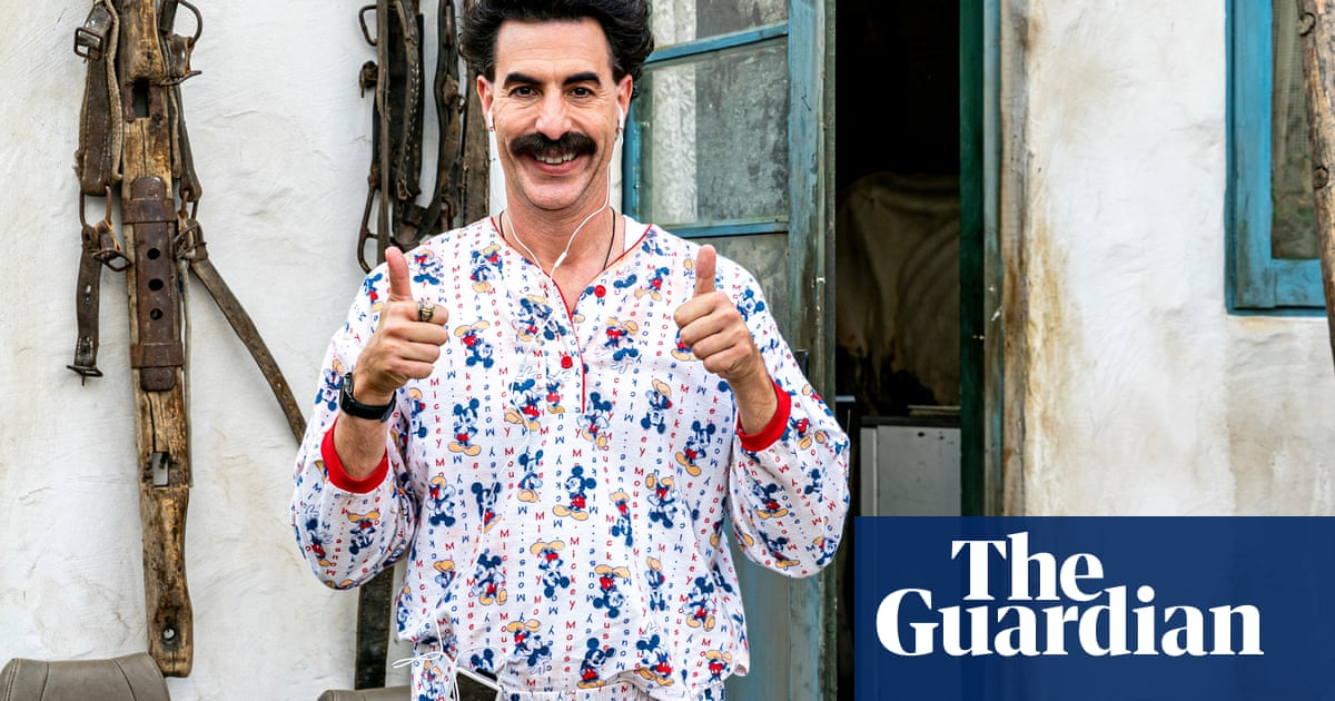 Borat cant save us from Trump – but he may be the way forward for film