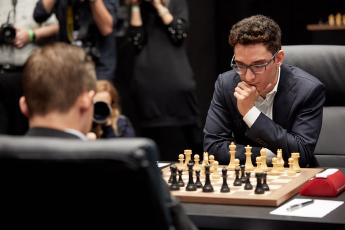Magnus Carlsen misses win in Game 1 draw with Fabiano