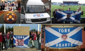 The York Hearts supporters' club on their travels. Photos courtesy of Gavin Aitchison