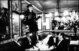 Kate Moss, Brasserie Lipp, Paris, 1993
