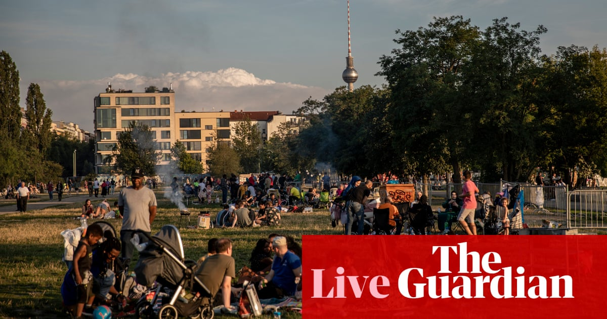 Coronavirus live news: calls for party ban in Germany to curb cases; ex-Ukraine PM 'seriously ill with Covid' – The Guardian