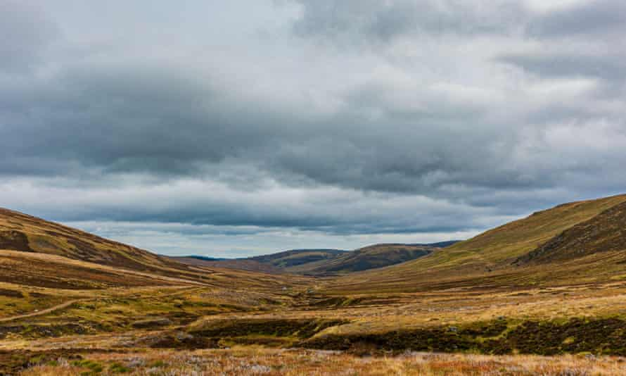 Glen Prosen in the Angus Glens of Scotland