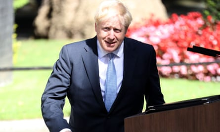 Praise for Boris Johnson's rise to PM was led by Donald Trump, but in Europe there was a more muted response.