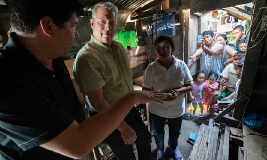 Focus on facts: Al Gore in An Inconvenient Sequel.