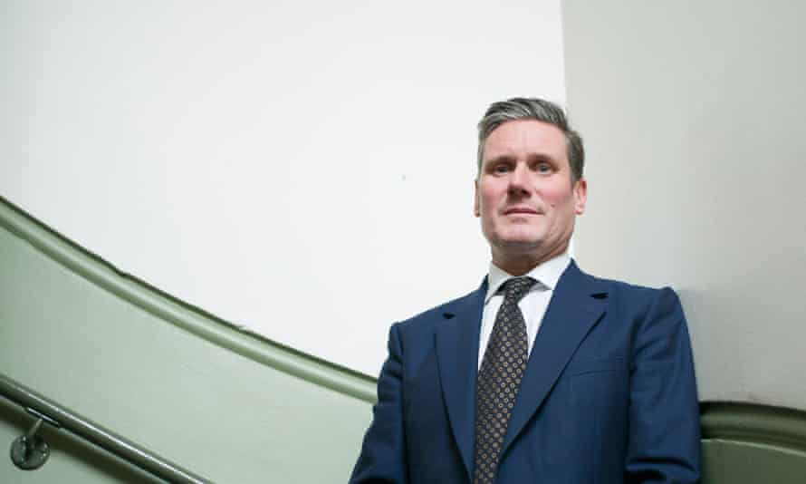 Keir Starmer: 'Part of the reason I moved from law to politics was an increasingly profound belief that how we rebuild after the 2008 crash is going to define us for a generation.'