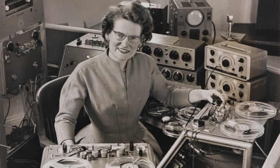 Daphne Oram, co-founder of the BBC Radiophonic Workshop.