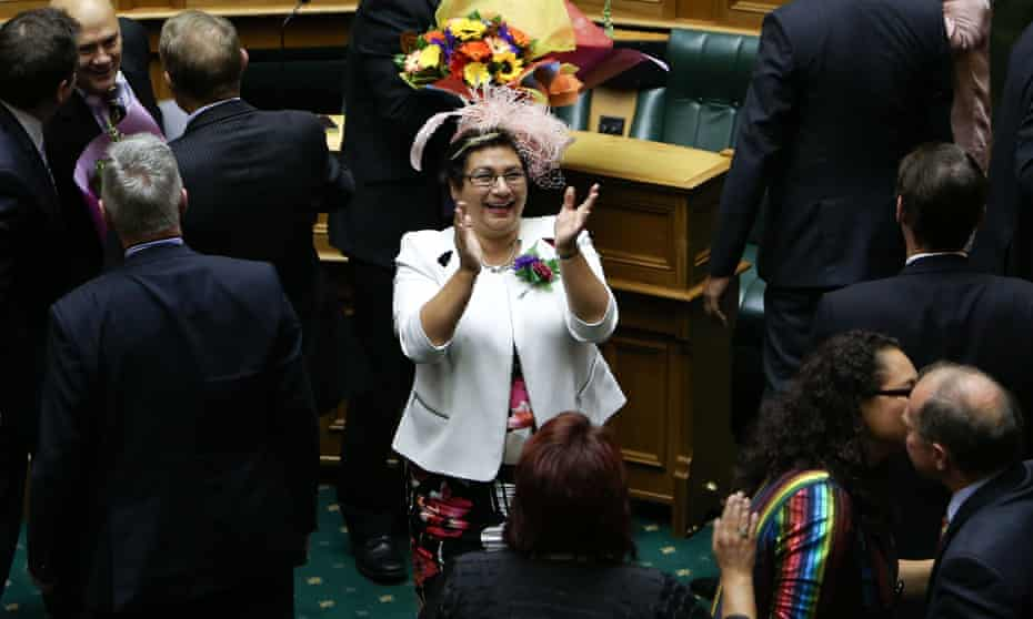 Green Party co-leader Metiria Turei, seen here celebrating a vote on marriage equality, has resigned after revealing she lied to claim benefits.