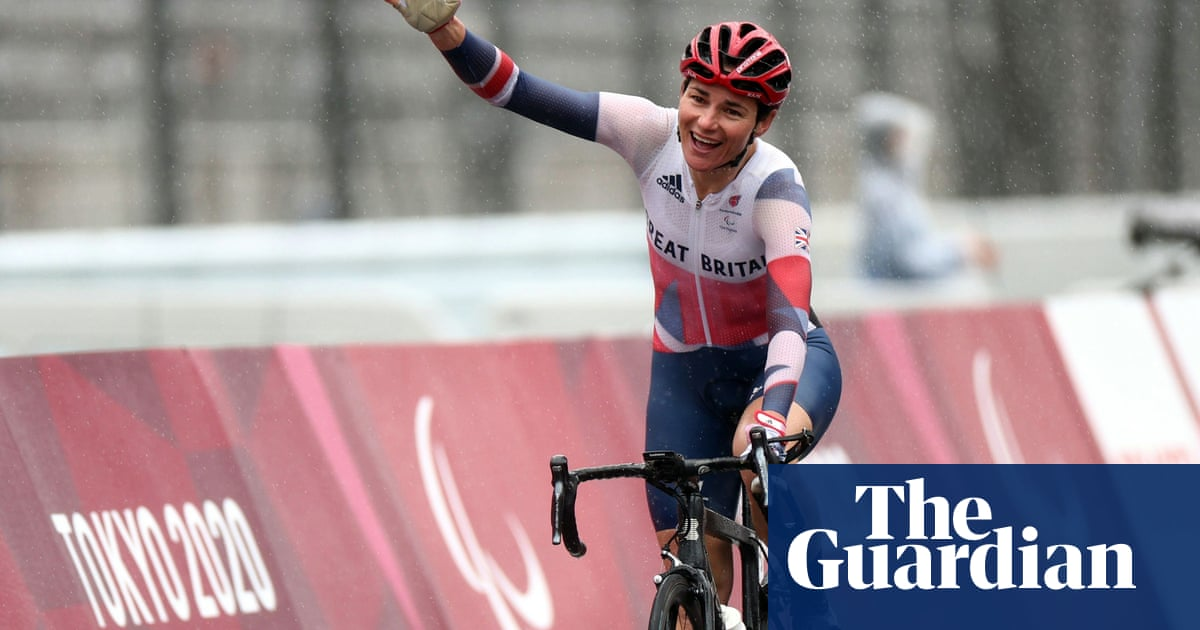 Sarah Storey: the one-woman gold medal factory still in full production