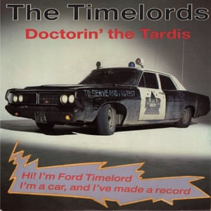The Doctorin' the Tardis record cover.