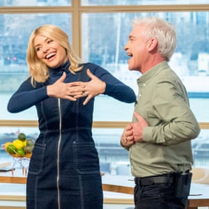 Holly Willoughby with This Morning co-host Phillip Schofield.