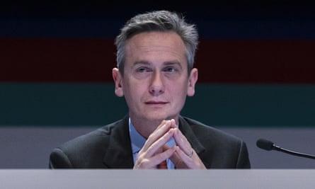Rio Tinto chief executive Jean-Sebastien Jacques