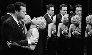 Orson Welles and Rita Hayworth in The Lady from Shanghai.