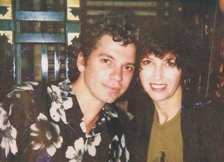 Michael Hutchence and Tina.