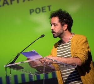 Zaffar Kunial reads.