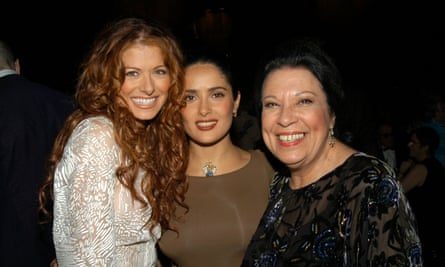 Shelley Morrison with Debra Messing and Salma et he Ninth Annual Screen Actors Guild Awards.