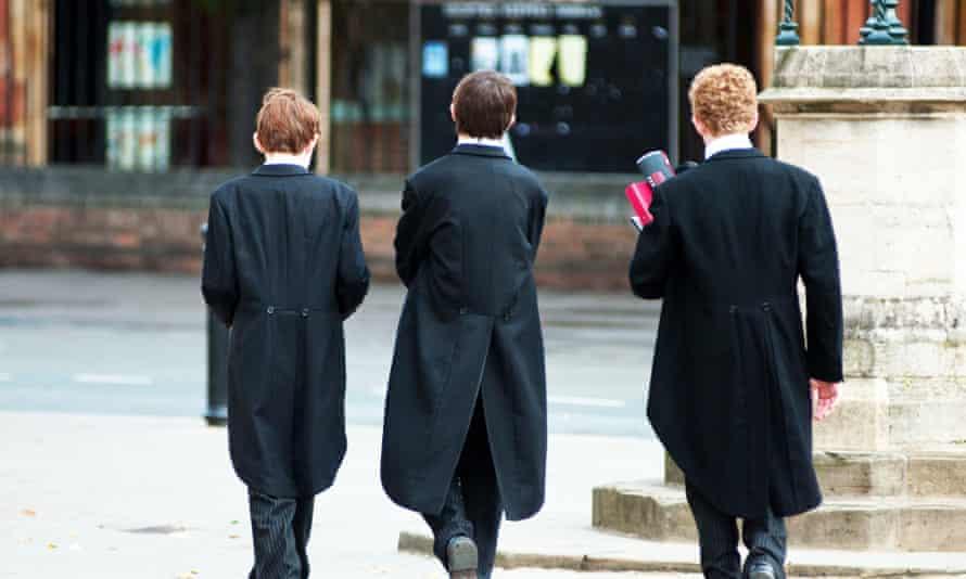 Eton public school boys.