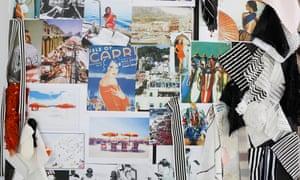 A moodboard featuring Capri.