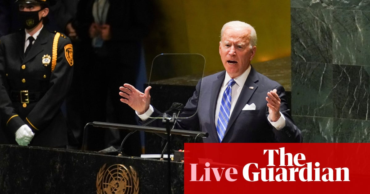 UN: Joe Biden pledges to double climate aid to developing countries – live